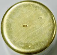 Стопка серебро 875, Северная чернь, период СССР.