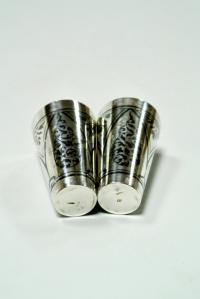 стопки серебро 875 проба, период ссср Кубачи