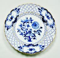 тарелка декоративная cиний лук Германия Meissen 1924-1934 гг.