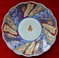 тарелка декоративная, стиль Имари