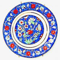 Тарелка из коллекции Сокровища Topkapi Palace / Osmanh Collection