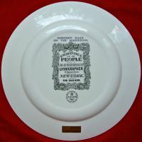 тарелка коллекционная adams wedgwood, пароходы