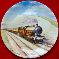 Тарелка коллекционная, davenport паровозы англия