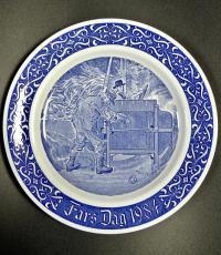 Тарелка коллекционная  День отца 1984 год, Rorstrand.