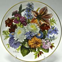 тарелка настенная коллекционная, авторская, Hutschenreuter Германия 1985-1990 гг.