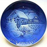 тарелка настенная коллекционная Рождество Христово BING & GRONDAHL COPENHAGEN PORCELAIN