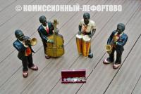 темнокожие музыканты, джаз бэнд