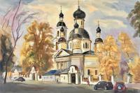 Церковь Троицы Живоначальной у Салтыкова моста.