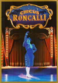 Цирк Ронкалли буклет с автографом Bernharda Paula - Circus Roncalli.