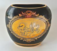 ваза декоративная. греция 1970 гг.