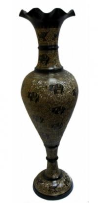 ваза напольная бронзовая.