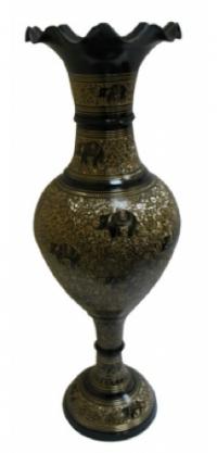 ваза напольная бронзовая