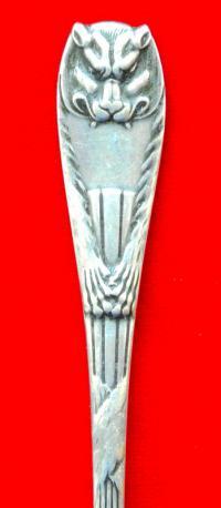 вилки в стиле модернъ «Peau de Lion» фраже.