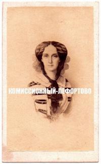 визит портрет — Мария София Фридерика Дагмар «Дагмара» 1880 гг.