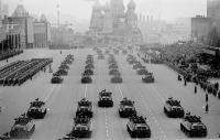 военный парад 9 мая 1960 года на красной площади в Москве
