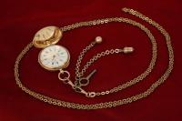 часы кулон до 1917 года