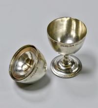 Яйцо рюмка 22 июля 1895 год. 19 век Российская империя.
