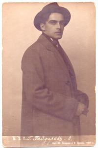 Заслуженный артист РСФСР Гайдаров Владимир Георгиевич, Российская империя 1918 год.