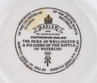 """заварочный чайник """"Герцог Веллингтон и солдаты в битве при Ватерлоо""""."""