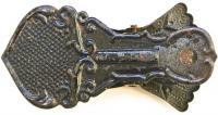 зажим для бумаг, рука маркизы, период ссср 1920 - 1930 гг. ХХ века.
