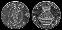 жетон «circus bravo-matic» france