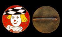 значок Олег Попов, период СССР 1960 гг., последний советский клоун