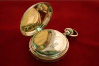 золотые карманные часы, Швейцария 1890 годы